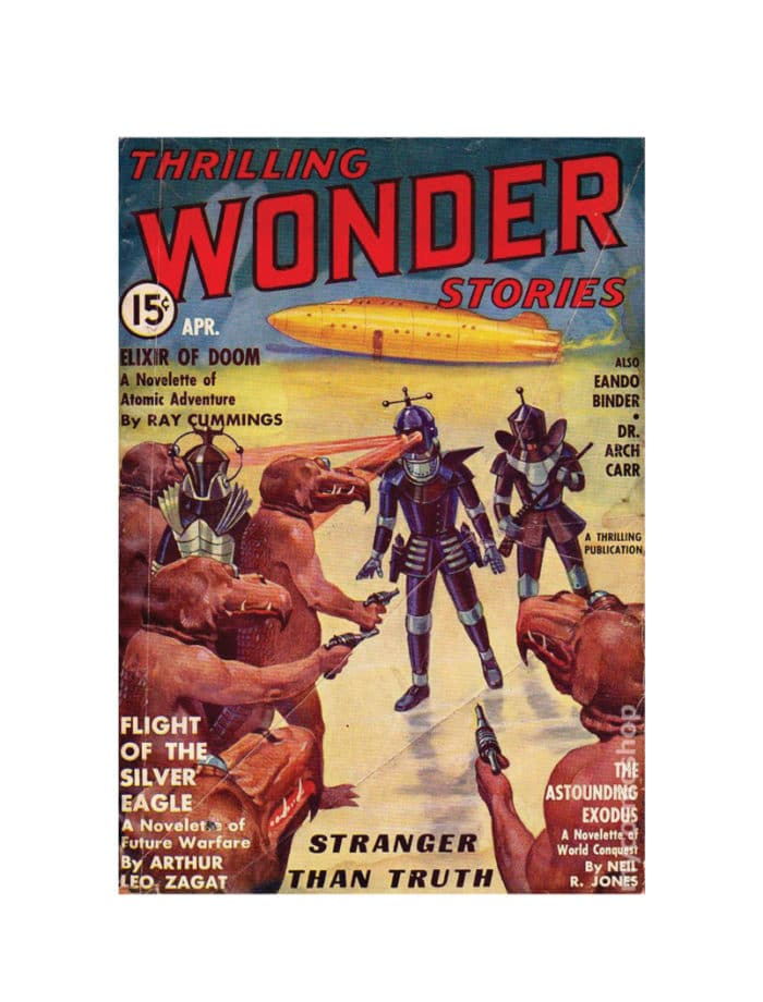 thrilling wonder stories Card April 1936 small