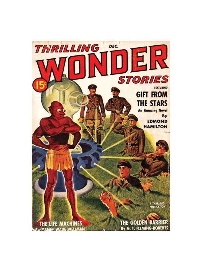 thrilling wonder stories Card December 1940 small