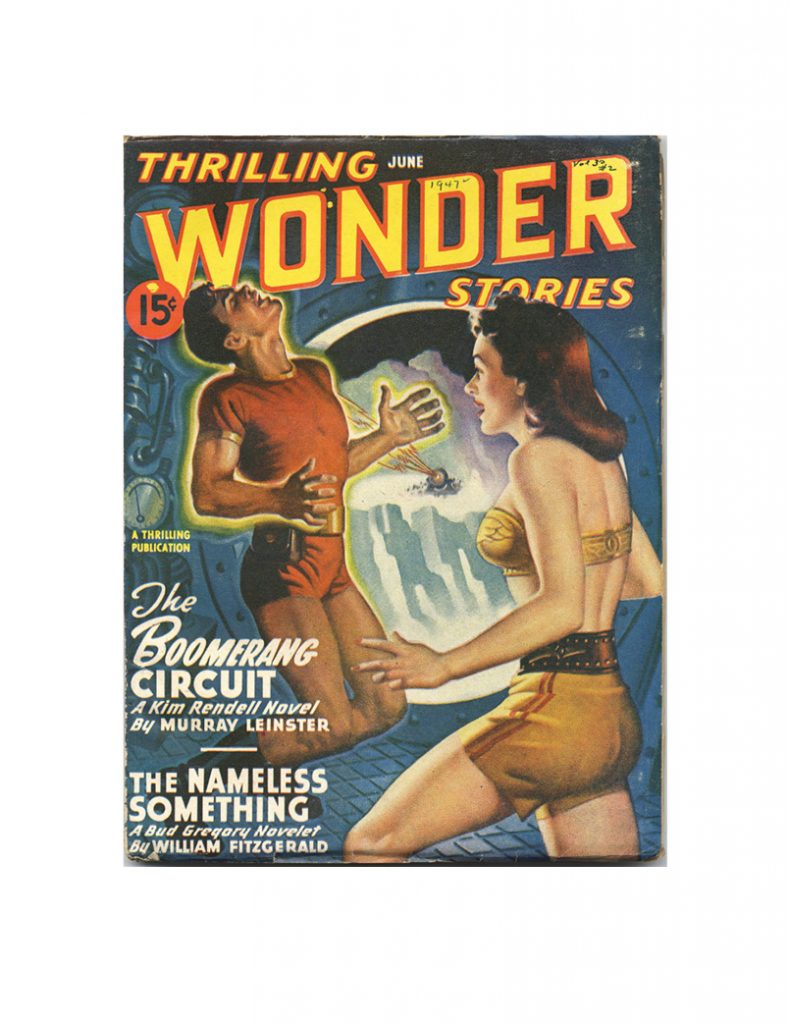 thrilling wonder stories Card June 1947 small