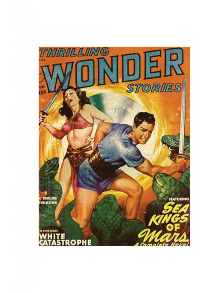 thrilling wonder stories Card June 1949 small