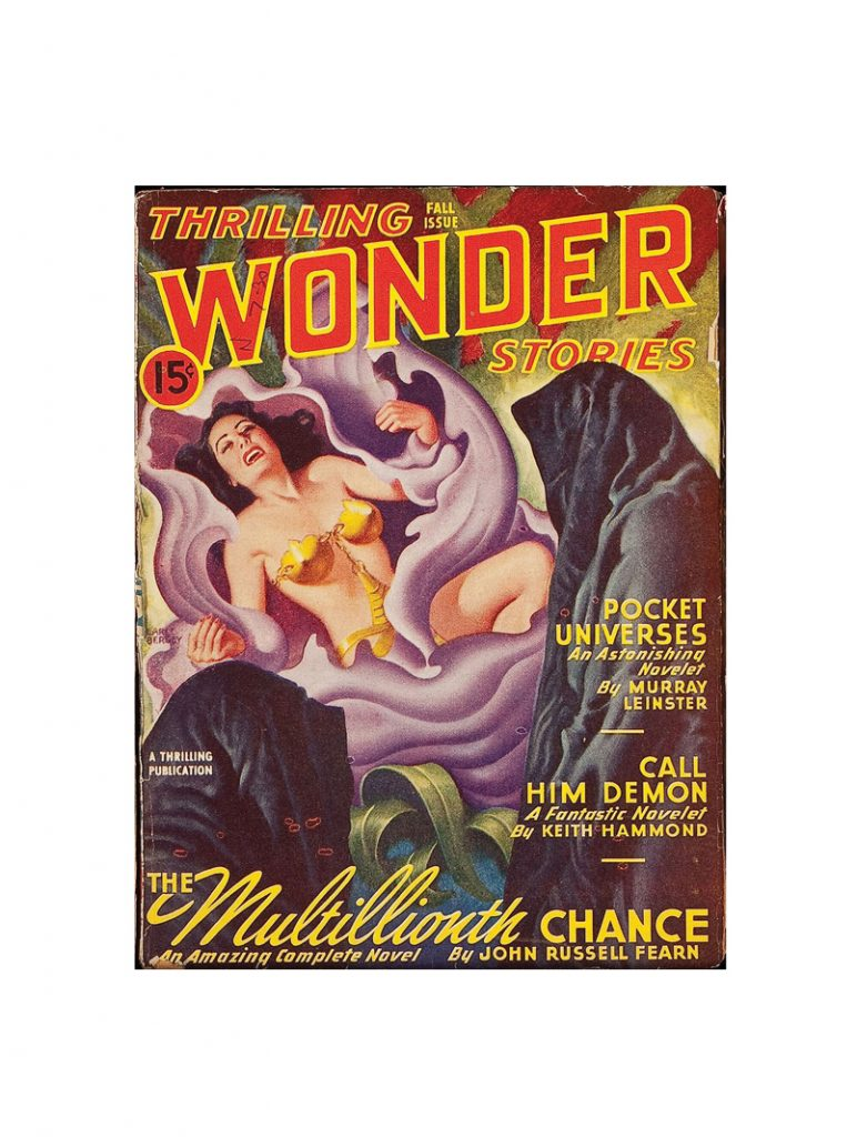 thrilling wonder stories Card fall 1946 small
